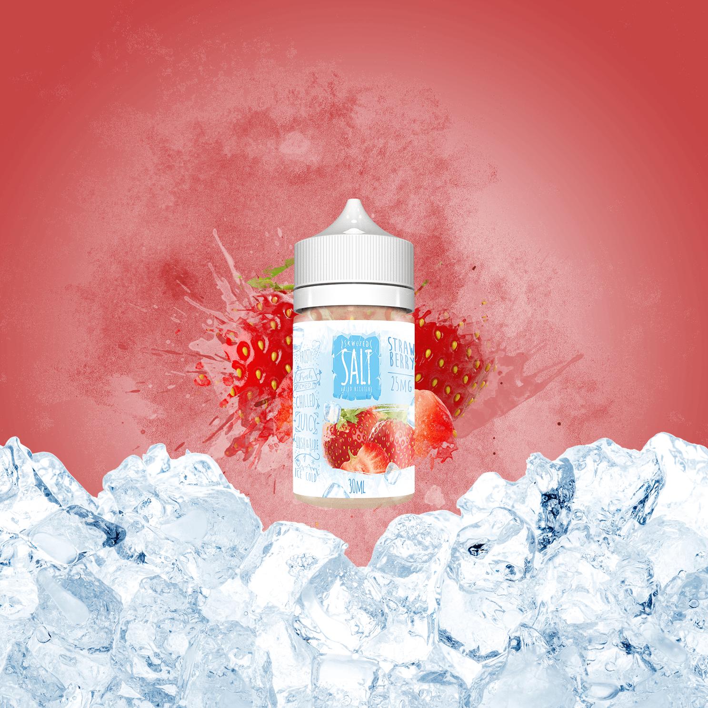 Skwezed Salts Strawberry Ice - Cigis y Punto
